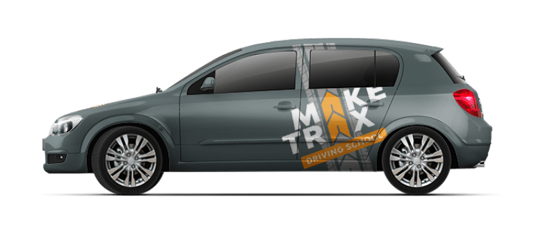 Make Trax branding on vehicle