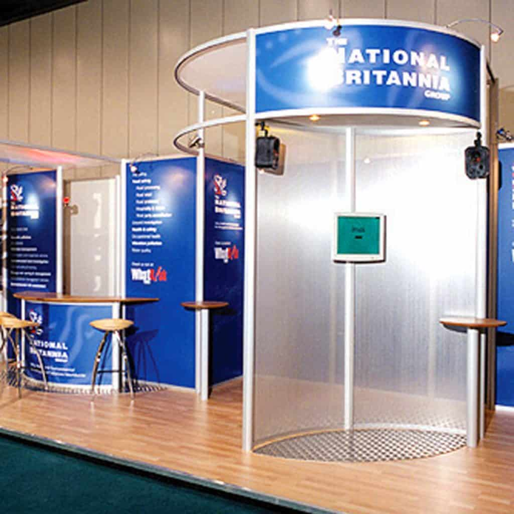 National Britannia Group Exhibition Design