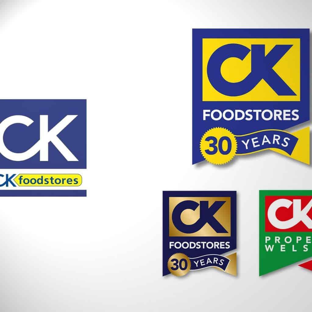 CK Foodstores  Branding & Logo Design