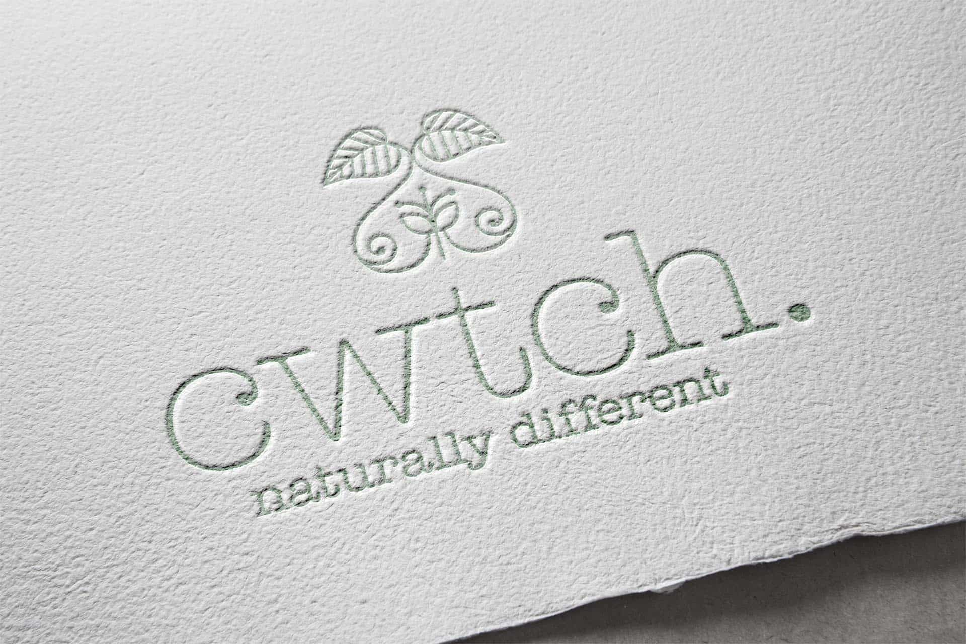 Cwtch Body Products branding