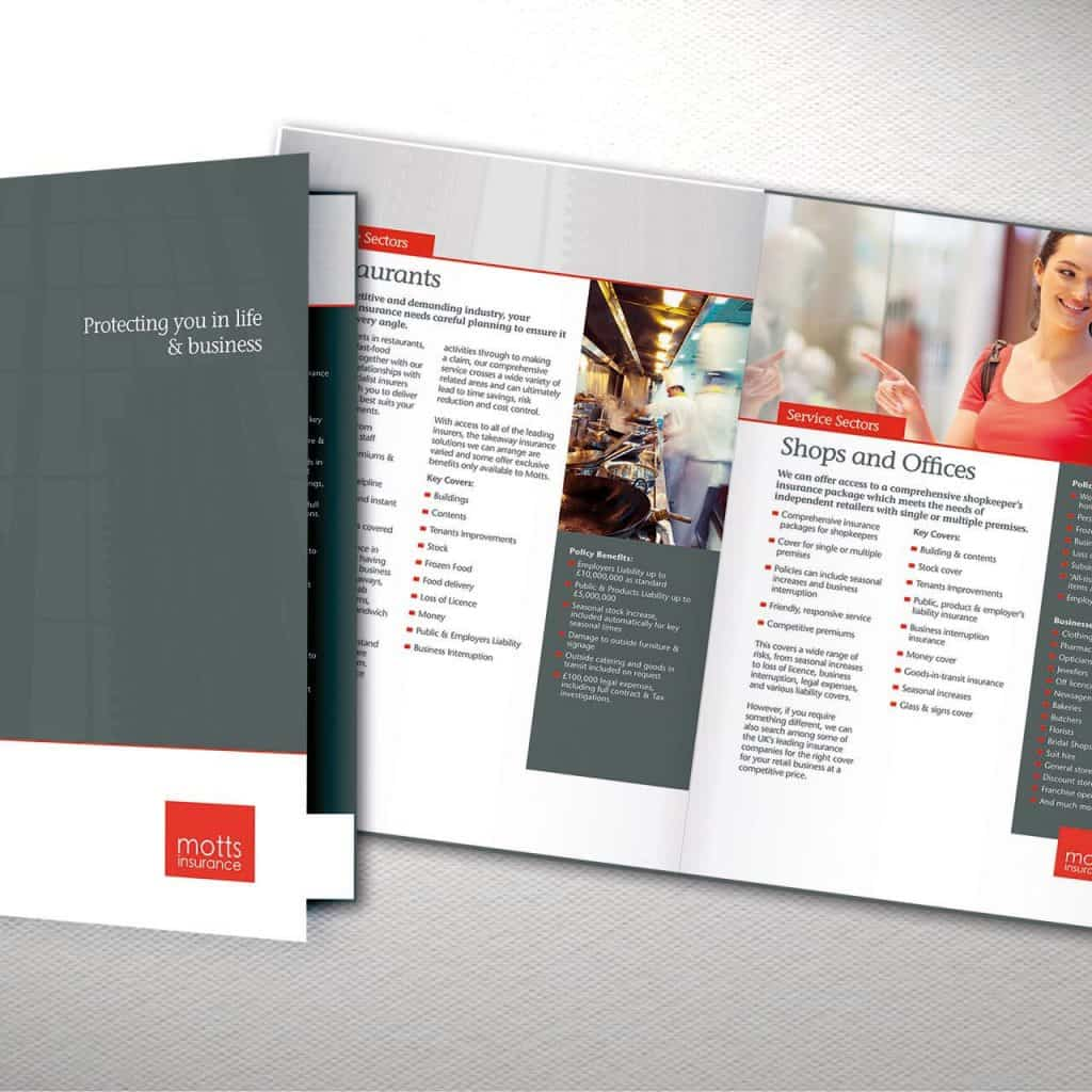 Motts Insurance Services Design for Print
