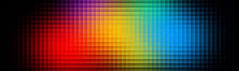 Colour spectrum chart