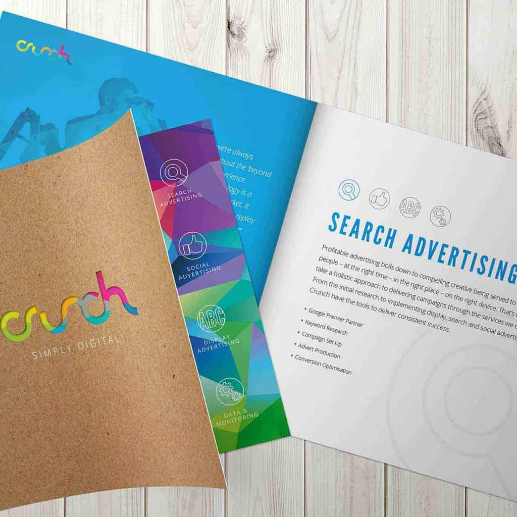 Crunch Brochure Design