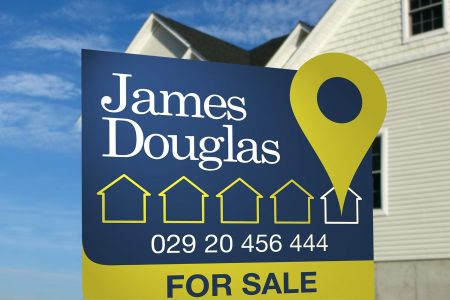 James Douglas Estate Agents branding