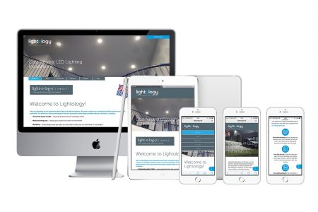 Lightology responsive website